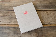 Air Mail Vintage Stamp Photo Album