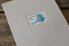 Brooklyn Bridge Vintage Stamp Photo Album
