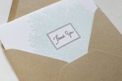 Queen Anne's Lace Thank You Card