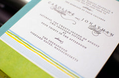 Horizon Wedding Invitation Samples