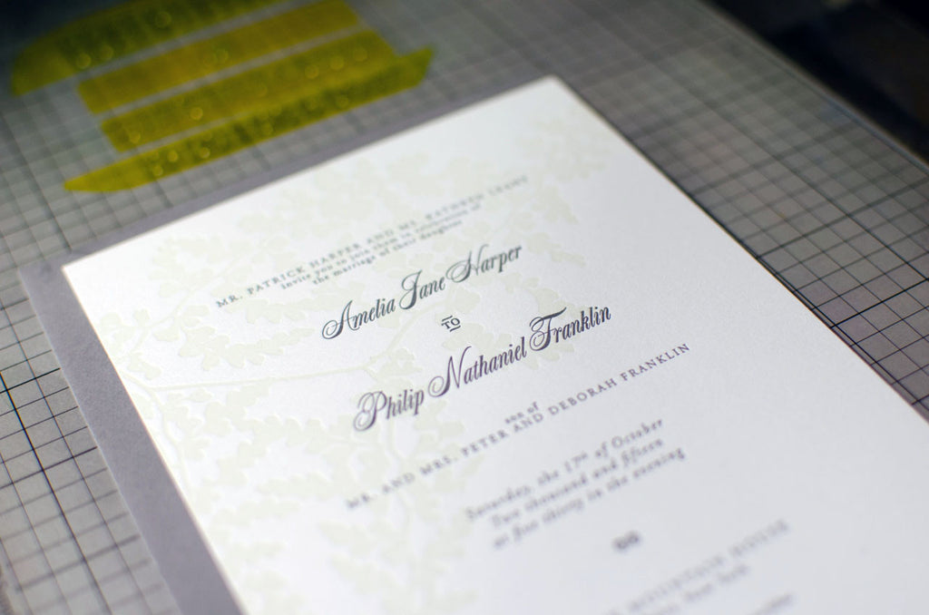 Flora Wedding Invitation Samples