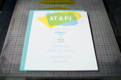 Fresh Wedding Invitation Samples