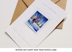 Personalized Letterpress Holiday Photo Cards
