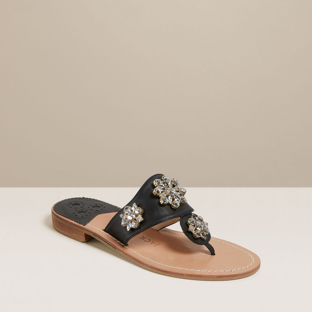 Jeweled Jacks Sandal