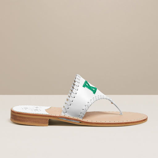 Kappa Delta Embroidered Sandal