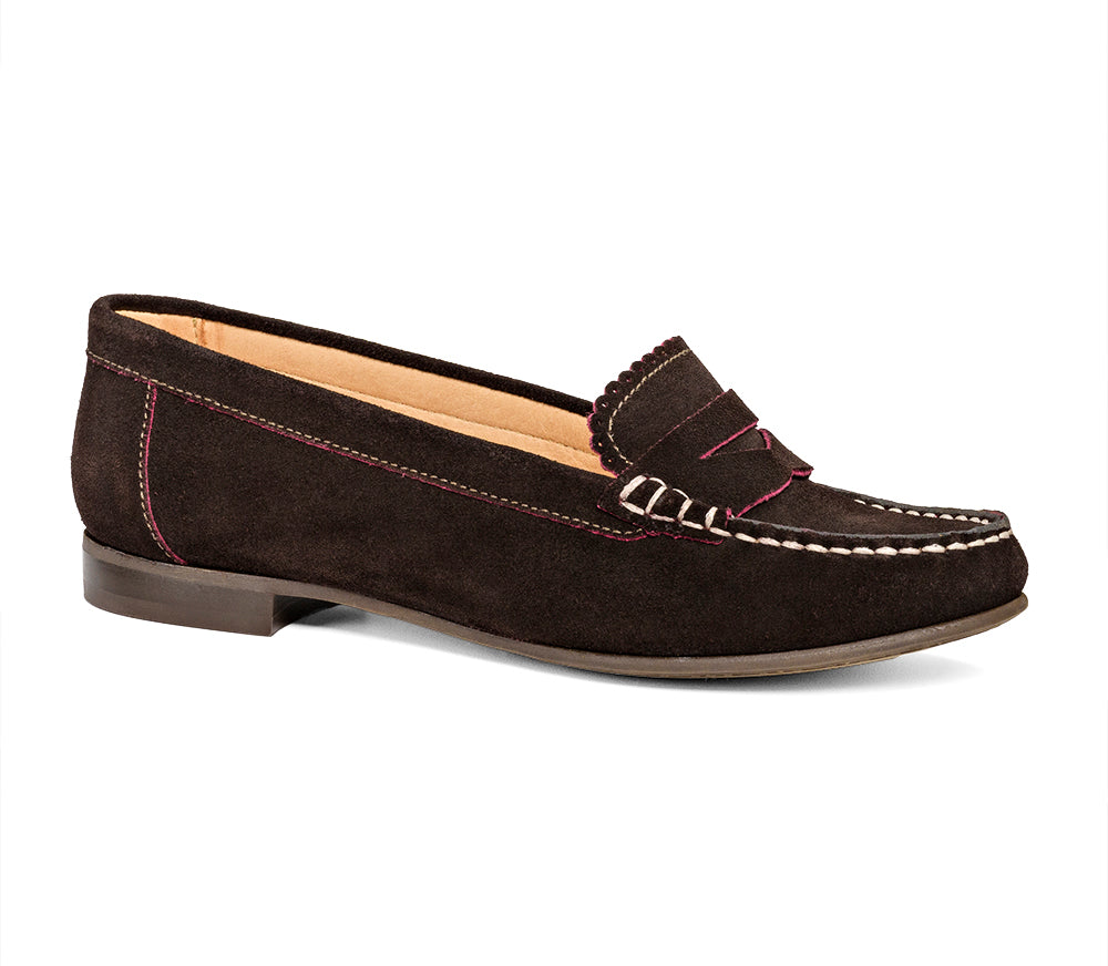 Quinn Suede Loafer-Jack Rogers USA