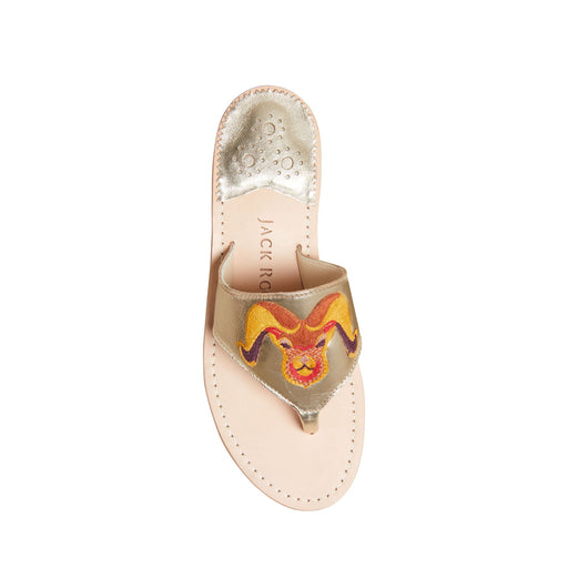 Aries Embroidered Sandal