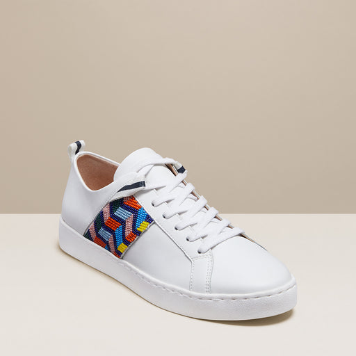 Ainsley Chevron Beaded Sneaker-Jack Rogers USA