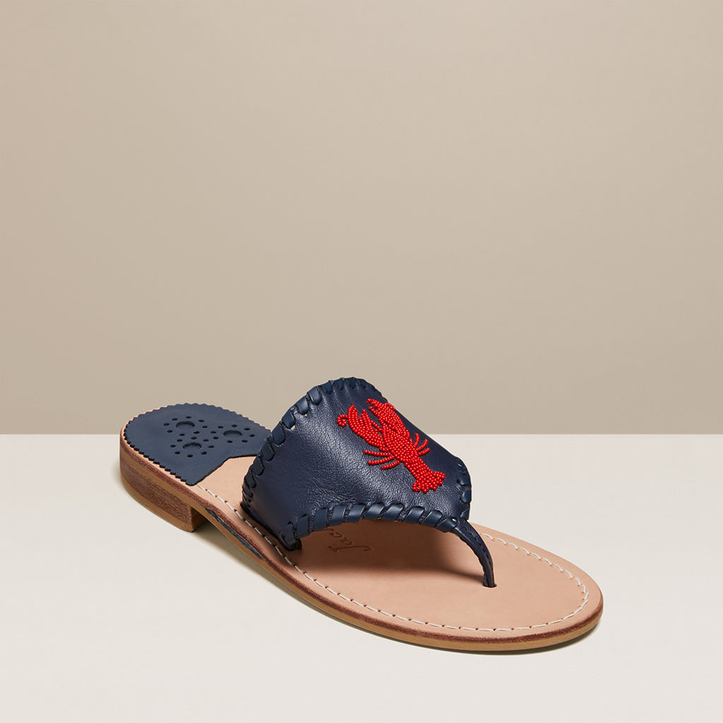 Beaded Lobster Sandal
