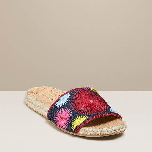 Bettina Slide Embroidered-Jack Rogers USA