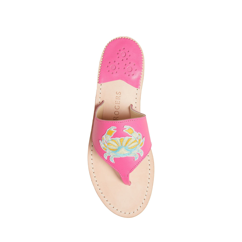 Cancer Embroidered Sandal