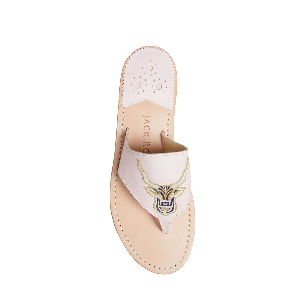 Capricorn Embroidered Sandal