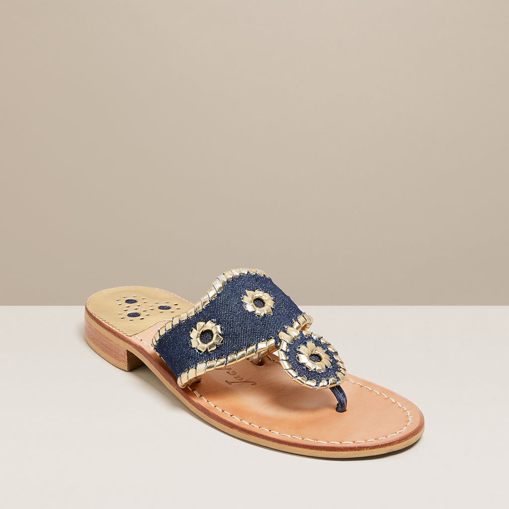 Denim Jacks Flat Sandal