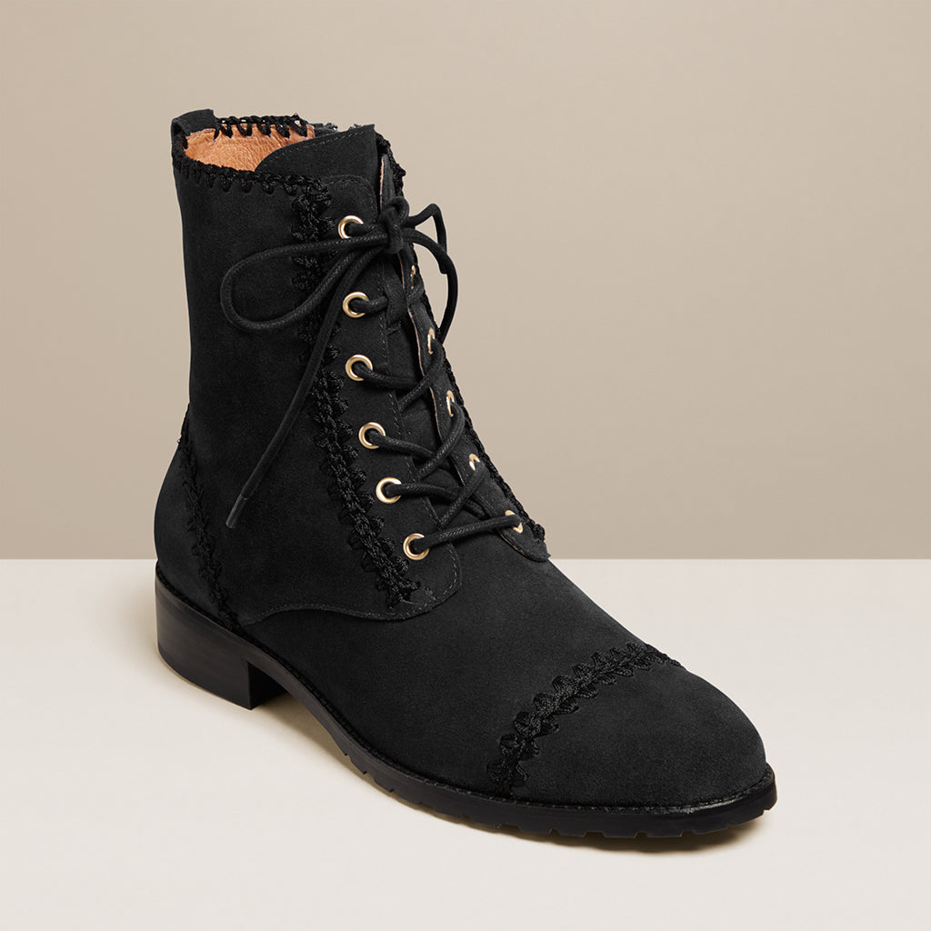 Gemma Lace Up Bootie-BOOTS-Jack Rogers USA