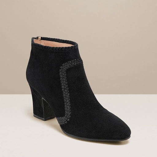 Gemma Suede Heeled Bootie-BOOTS-Jack Rogers USA