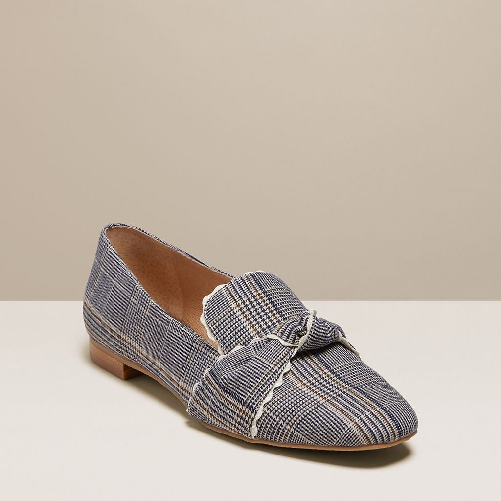 Holly Plaid Loafer-FLATS-Jack Rogers USA