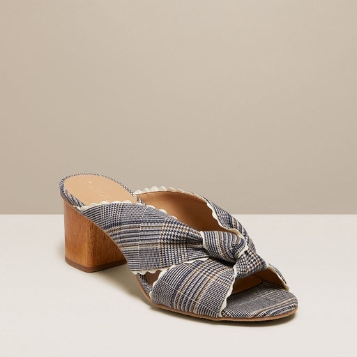 Holly Plaid Mule