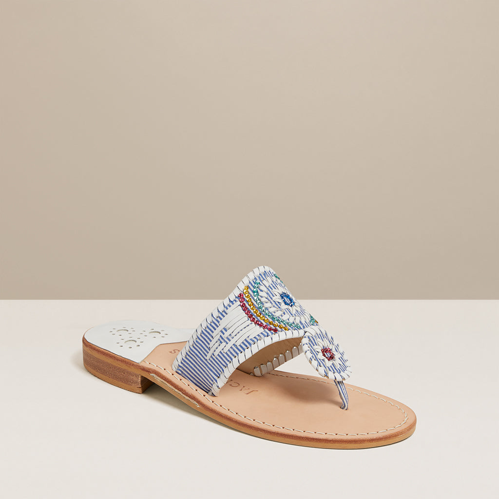 Jacks Flat Gem Sandal