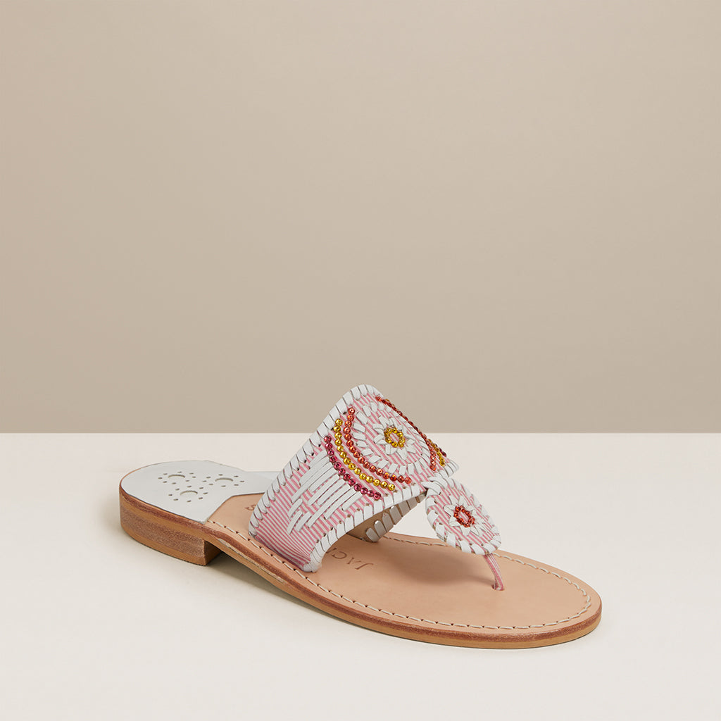 Jacks Flat Gem Sandal-JACKS-Jack Rogers USA