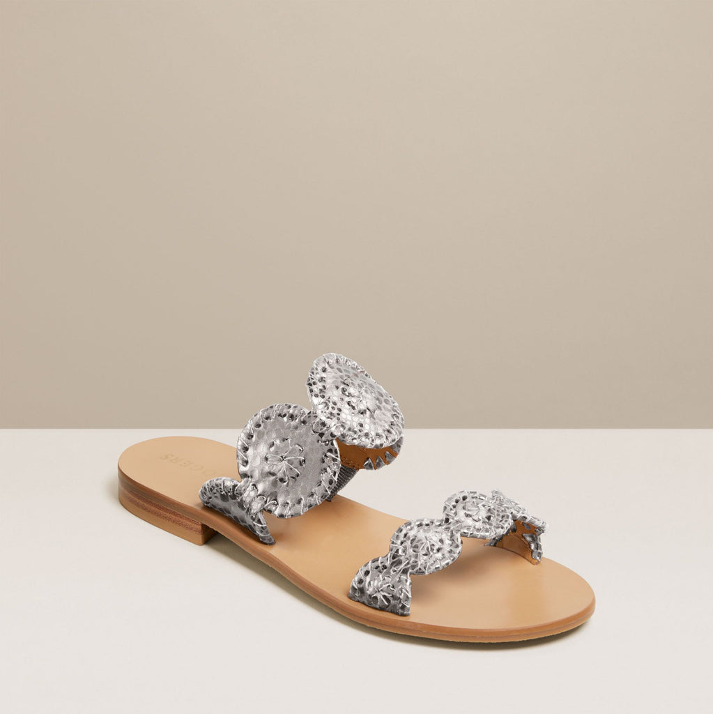 Lauren Snake Embossed Sandal-SANDALS-Jack Rogers USA