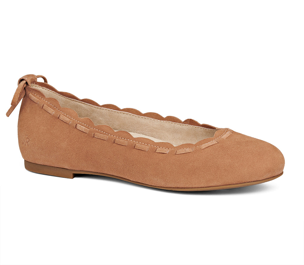 Lucie Suede II Flat-Jack Rogers USA