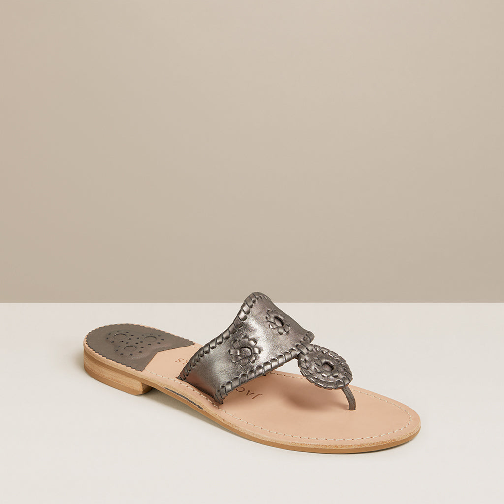 Metallic Jacks Sandal