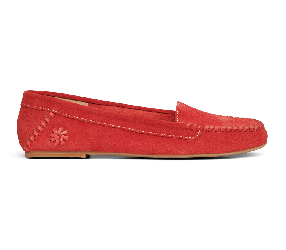 Millie Suede Moccasin