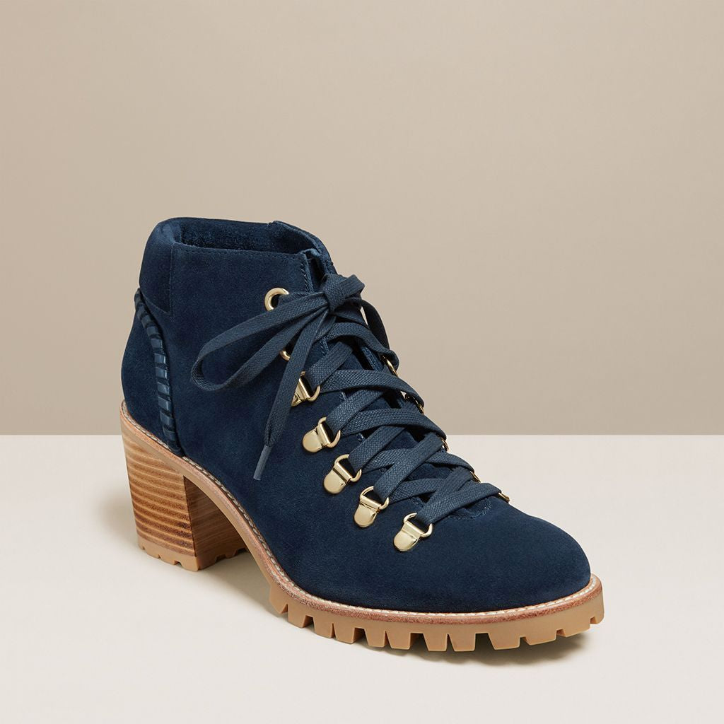 Poppy Suede Hiker