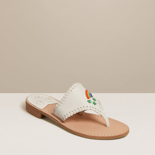 Pot of Gold Embroidered Sandal