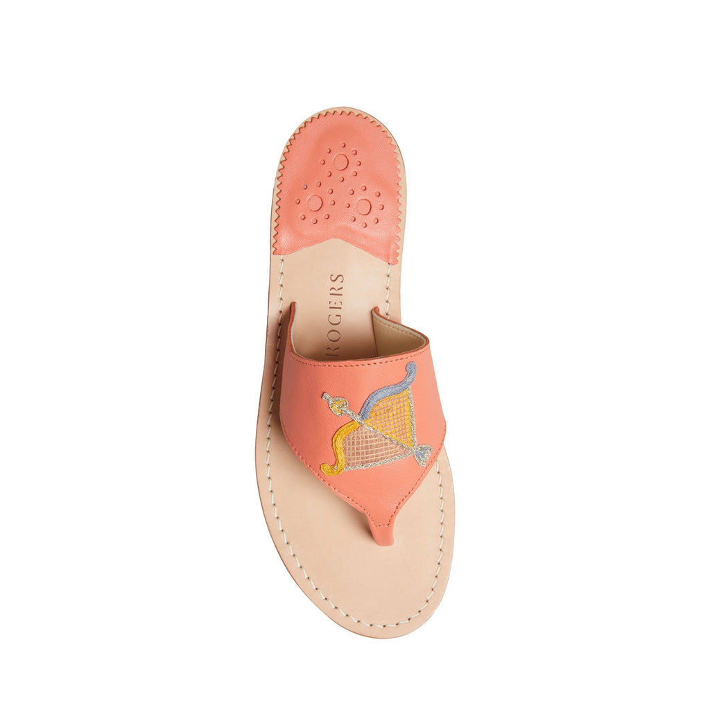Sagitarius Embroidered Sandal
