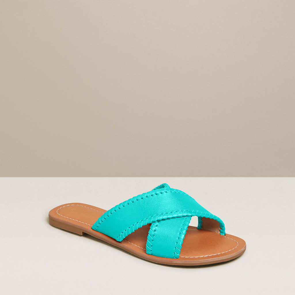 Sloane X Band Slide-SANDALS-Jack Rogers USA