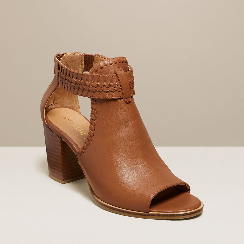 Tinsley Open Toe Bootie