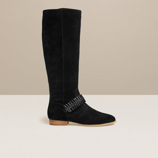 Tinsley Suede Knee Boot