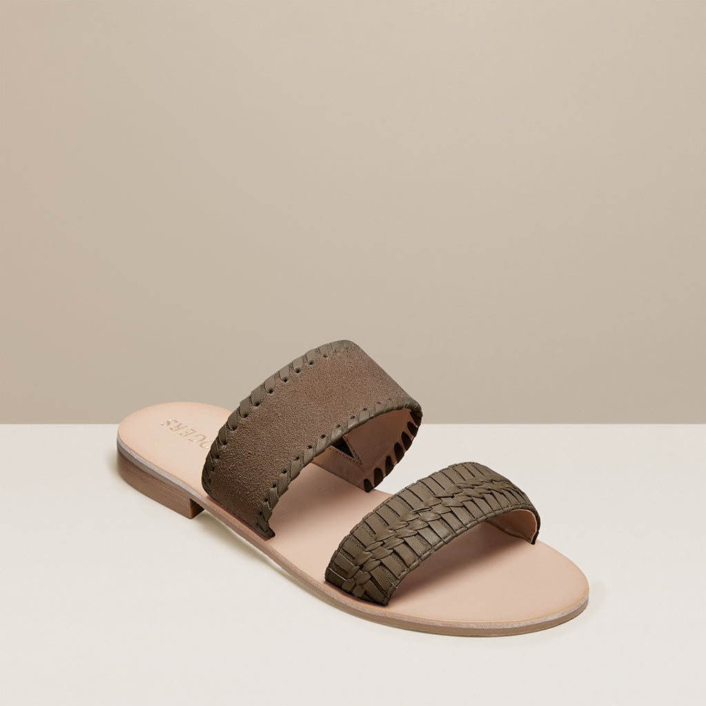 Tinsley Suede Slide