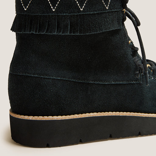 Vera Suede Lace Up Boot-BOOTS-Jack Rogers USA
