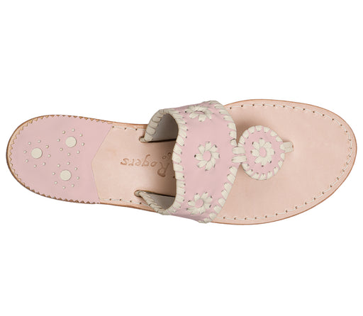 Custom Jacks Sandal Medium - Blush / Bone-Jack Rogers USA