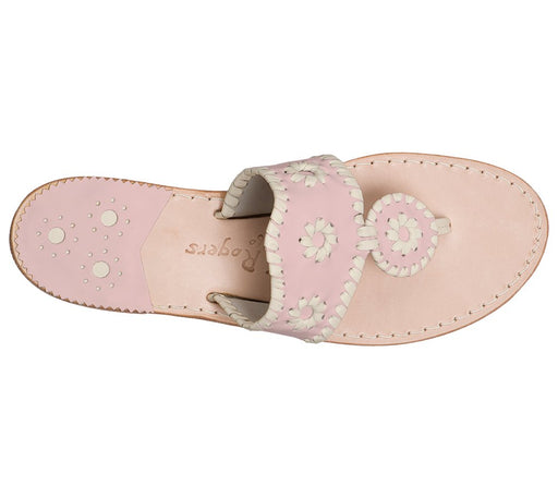 Custom Jacks Sandal Wide - Blush / Bone-Jack Rogers USA