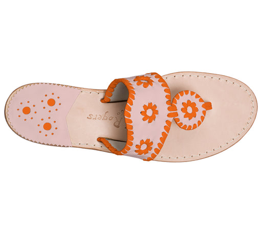 Custom Jacks Sandal Medium - Blush / Dark Orange