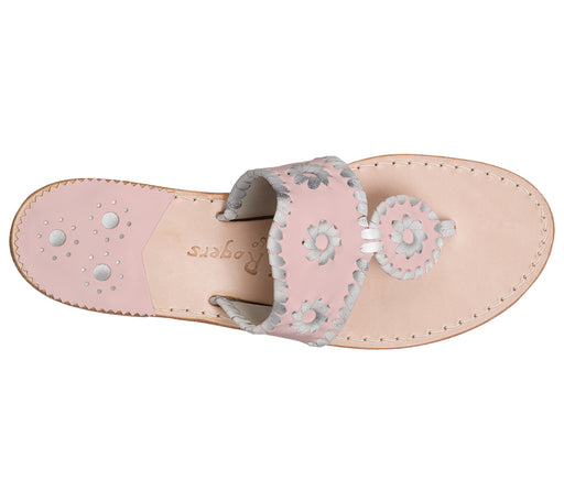 Custom Jacks Sandal Medium - Blush / Silver