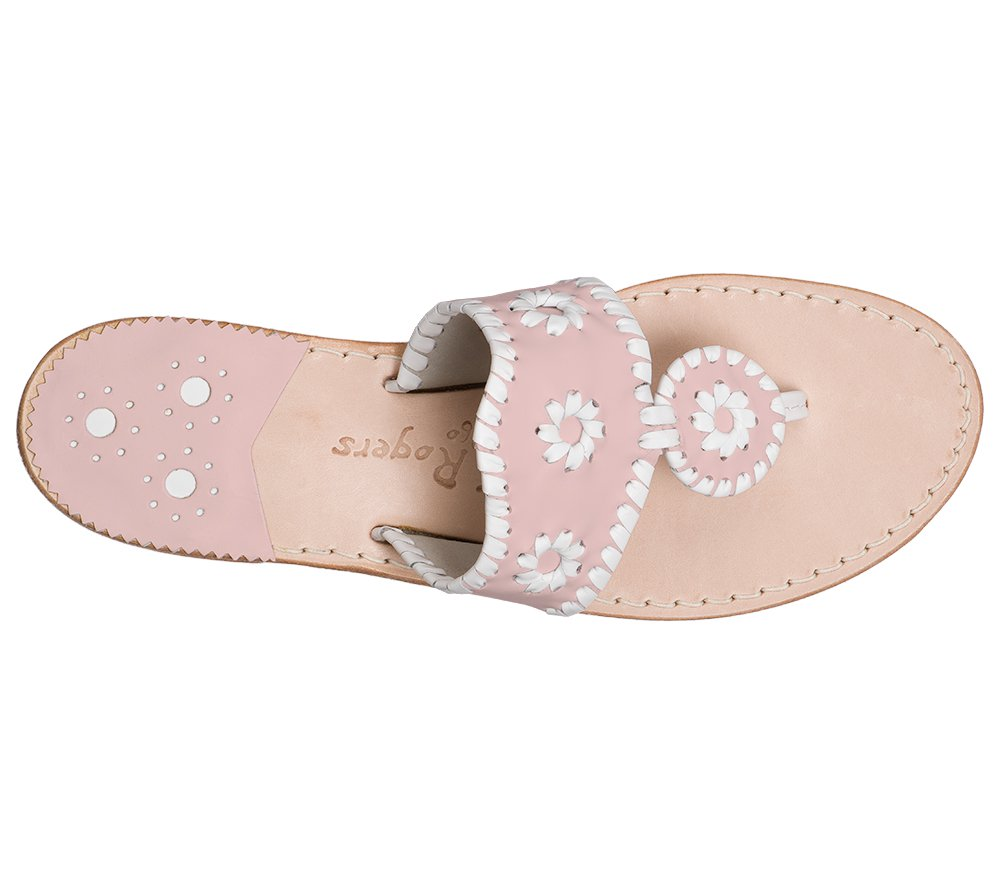 Custom Jacks Sandal Wide - Blush / White