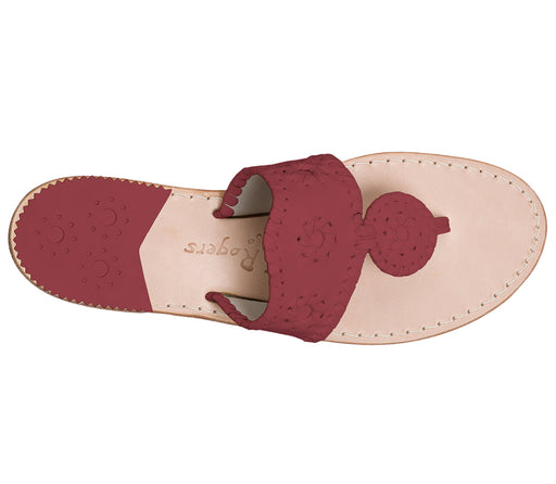 Custom Jacks Sandal Medium - Garnet / Garnet