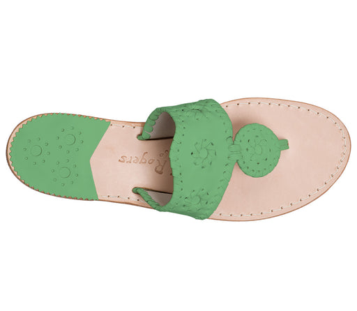 Custom Jacks Sandal Medium - Green / Green-Jack Rogers USA