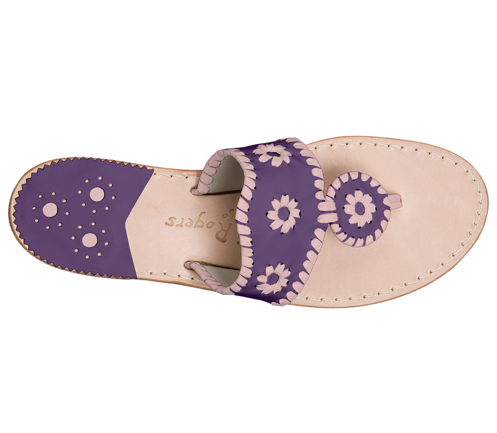 Custom Jacks Sandal Medium - Purple / Blush