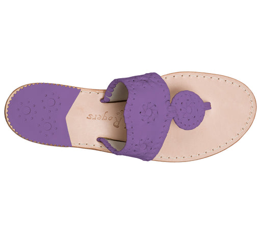 Custom Jacks Sandal Medium - Purple / Purple