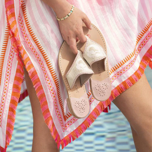 Spartina Mermaid Embroidery Sandal