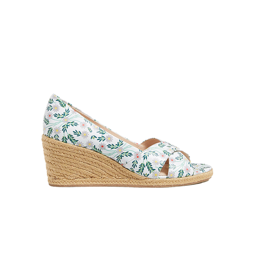 Palmer Criss-Cross Espadrille Wedge