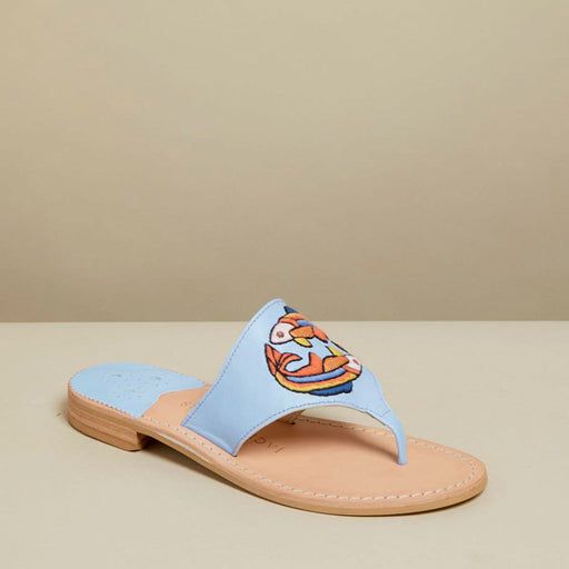 Pisces Embroidered Sandal-SANDALS-Jack Rogers USA