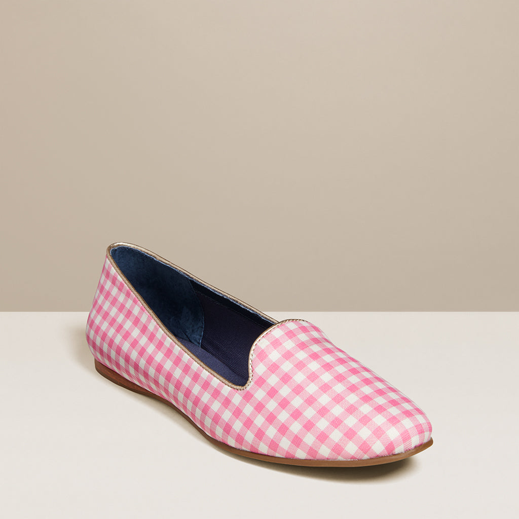 Reese Gingham Flat-Jack Rogers USA