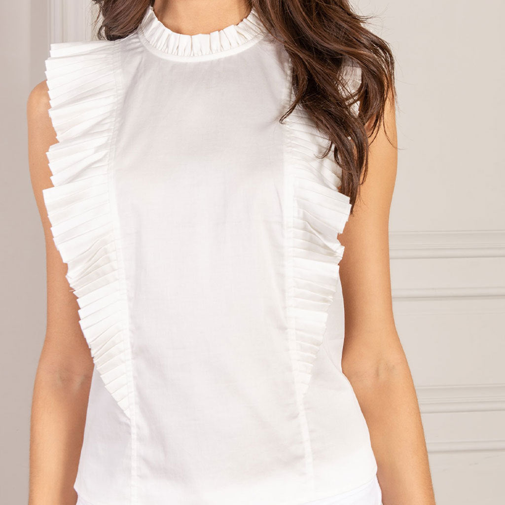SENLIS Floria Sleeveless Top
