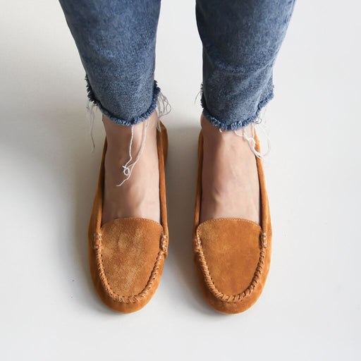 Millie Leather Moccasin